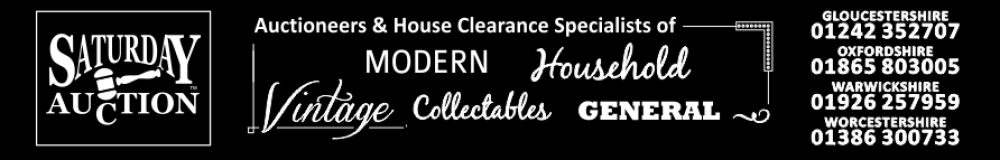 Saturday Auction & House Clearance